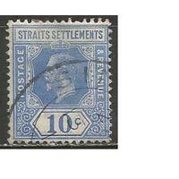Стрейтс Селтментс. Король Георг V. 1919г. Mi#161.