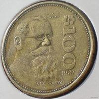 Мексика, 100 песо 1987 года