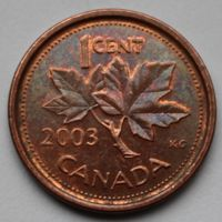 1 цент 2003 Канада