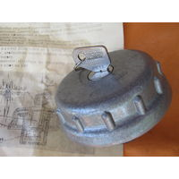 Крышка  от топливного бака  с замком из СССР! В упаковке по родне и инструкцией.Для ВАЗ-жигули.
