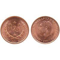 Самоа 2 сене 2000 UNC