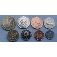 Гернси, 2006г. (8 монет)