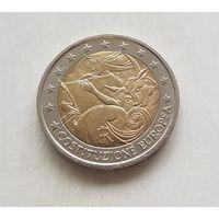2 евро 2005 Италия  Годовщина европейской конституции