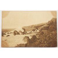 Крым.Алупка.Прибой 1925г. с негашеной маркой