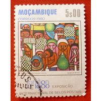Мозамбик. ( 1 марка ) 1980 года.