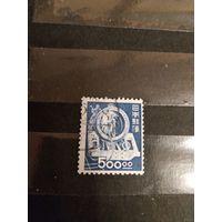 1949 Япония мих463 концовка оценка 6 евро (5-6)