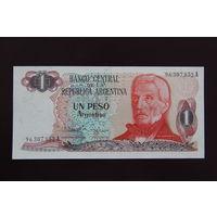 Аргентина 1 песо 1984 UNC