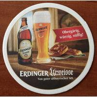 Подставка под пиво Erdinger No 4