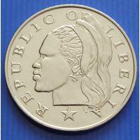 Либерия. 50 центов 2000 год KM#17b.2