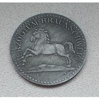 Германия,нотгельд Braunschweig 10 пфеннигов 1918 7-5-60