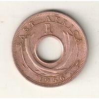Восточная Африка 1 цент 1956