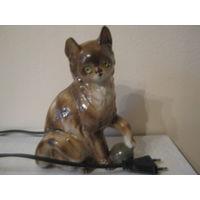 Статуэтка-ночник(кот)2