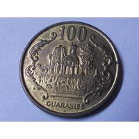 Парагвай 100 гуарани 1995 г. Аукцион с 1.00 руб.