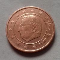 2 евроцента, Бельгия 2007 г.