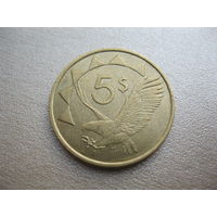 5 долларов 1993 г.