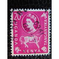Кения - Уганда - Танганьика 1960г. Фауна.