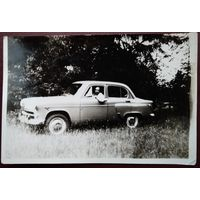 Фото в автомобиле. 1970-е. 9х13 см