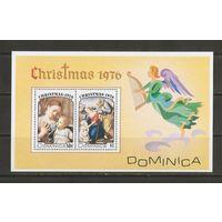 Доминикано 1976 Рождество Живопись
