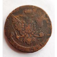 С 1 Рубля Без МЦ Монета 5 копеек 1760  Россия Империя ММ