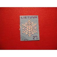 Марка Рождество 2011 год Литва