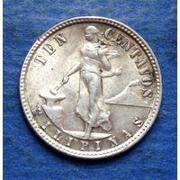 Филиппины 10 центаво 1945