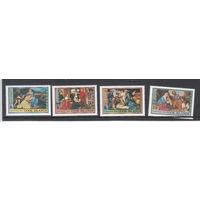Живопись. Религия. Острова Кука. 1990. 4 марки. Michel N 1312-1315 (12,0 е)