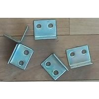 Уголки металлические мебельные-10 шт (оцинкованные)