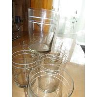 Чайные стаканы обьем 200гр.