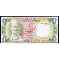 SIERRA LEONE/Сьерра-Леоне_1 Leone SPECIMEN_nd(1979)_Pick#CS2 (5.b)_UNC