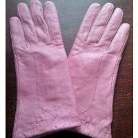 Стильные перчатки, натуральная кожа