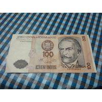 100 интис 1987 года Перу 3035604