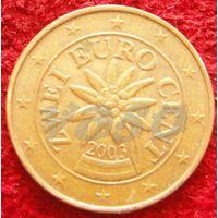 7797:  2 евро цента 2003 Австрия
