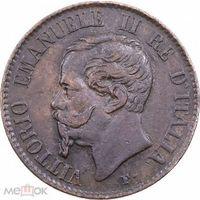 Италия 1 чентезимо 1867