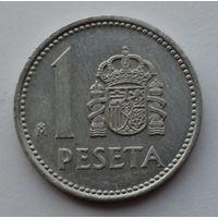 Испания 1 песета. 1987