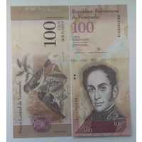 Венесуэла 100 боливара 2013 года UNC