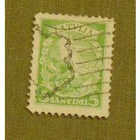 Герб и меч.   Латвия. Дата выпуска:1934-12-12