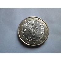 1 евро, Португалия 2005 г., AU