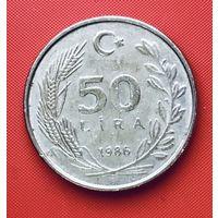 20-06 Турция, 50 лир 1986 г.