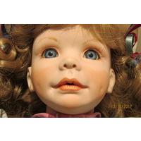 Фарфоровая Кукла Breeann от Laura Cobabe  для коллекционеров со стажем