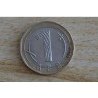 Болгария 1 лев 2002