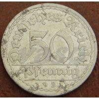 440**  50 пфеннигов 1921 А Германия