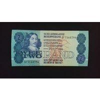 2 ранда 1981-1989 годов. ЮАР. UNC. Распродажа.