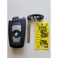BMW  пульт дистанционного управления  ключ YGOHUF5662 BMW 328I 2014г