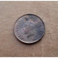 Британская Индия, 1/4 анна 1939 г., Георг VI (1936-1952)
