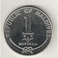 Мальдивы 1 руфия 2012