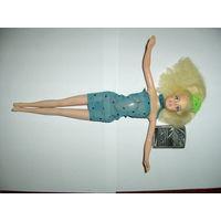 Кукла No Name в голубом платье