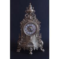 С 1 рубля! Винтажные бронзовые часы с кварцевым механизмом ! Лот 1 / 24 . Аукцион 5 дней !