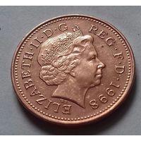 1 пенни, Великобритания 1998 г., AU