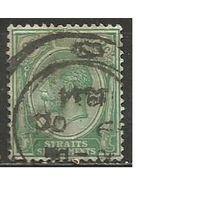 Стрейтс Селтментс. Король Георг V. 1922г. Mi#183.