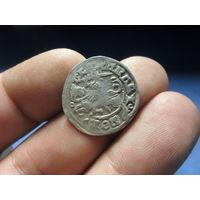 Полугрош Александр Ягеллончик (1492-1506) Вильно. aв,рв реннесансная легенда разрыв между Е и крестом